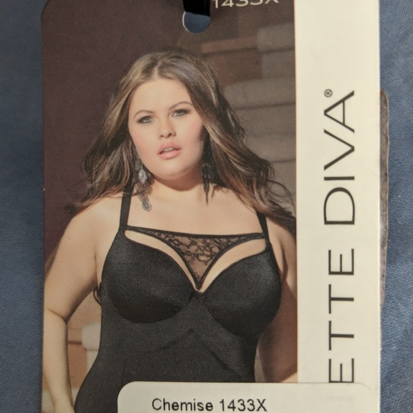 Coquette DIVA luxury figure shaping chemise 3x 4x. NWT 9179b0523